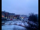 Прибытие поезда с Олимпийским огнем на ЖД вокзал Курска!